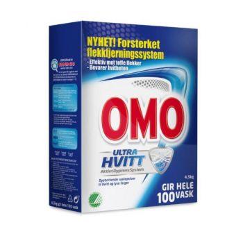 Vaskemiddel Omo Ultra pulver, 4.5kg