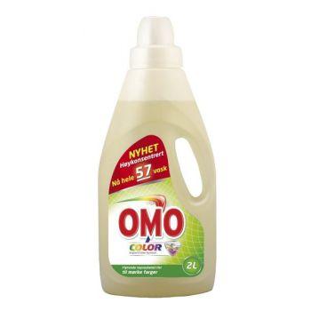 Vaskemiddel Omo Color Flytende, 2 Liter