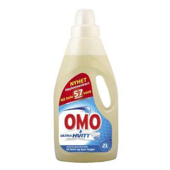 Vaskemiddel Omo Ultra Flytende, 2 Liter