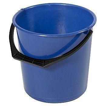Bøtte blå plast, 10 Liter
