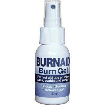 Branngele Burnaid pumpeflaske 50ml