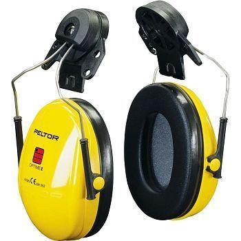 Hørselvern Peltor Optime I, øreklokker for hjelmmontering