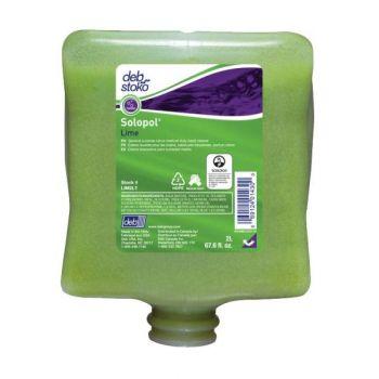 Håndrens DEB Solopol Lime 2L (4stk)