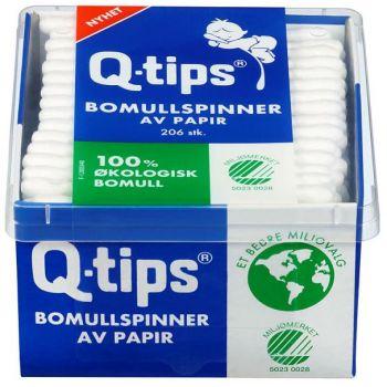 Bomullspinner Q-tips 206 stk