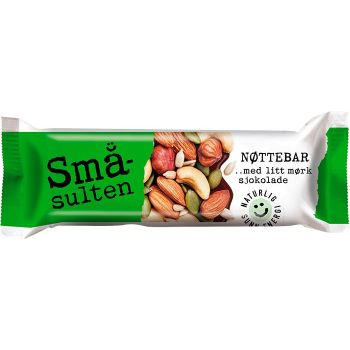 Nøttebar Småsulten 40 g (30 stk)