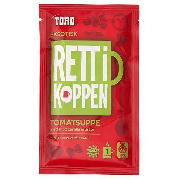 Tomatsuppe med Mozarella RIK Toro