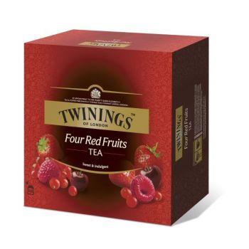 Te Twinings 4 røde frukter