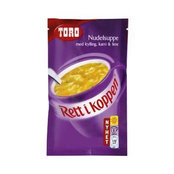 Nudelsuppe med kylling, karri og lime RIK Toro