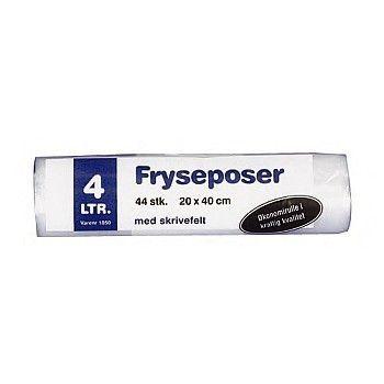 Frysepose 20x40cm, 4 Liter