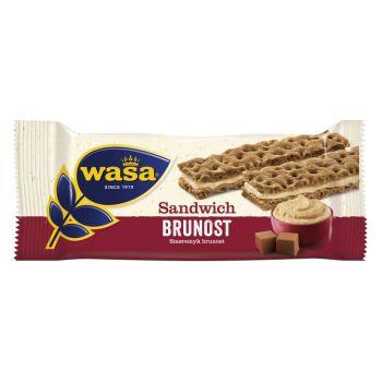 Sandwich WASA, Brunost