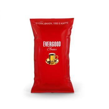 Kaffe Evergood Finmalt 1000g (6 poser)