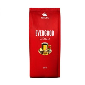 Kaffe Evergood, kokemalt, 250g