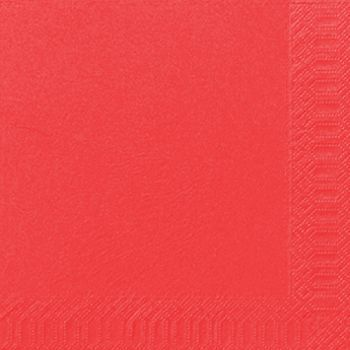 Serviett Duni Mandarin 33x33cm 3-lags (125 stk)