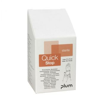 Plum Quickstop kompressforbindingssett a 3 stk