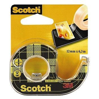 Tosidig tape - Scotch - 12mm x 6m