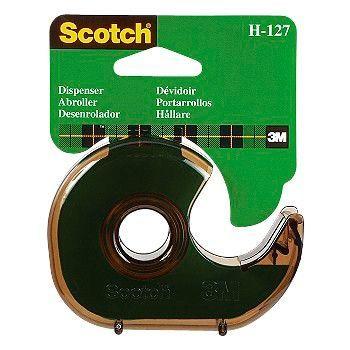 Dispenser Scotch, kontortape for 33 meters ruller.