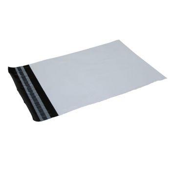 Postordrepose 230x325mm, hvit og sort