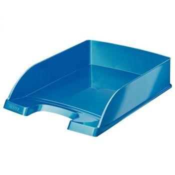 Brevkurv Leitz Plus WOW, Blå metallic