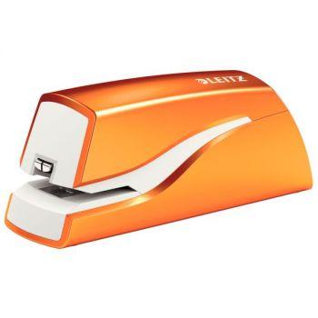 Stiftemaskin batteri Leitz WOW, Oransje metallic