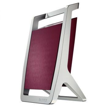 Penneholder Leitz Style, Sølv/Garnet Rød