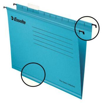 Hengemappe Folio Esselte Classic Blå (25 stk)