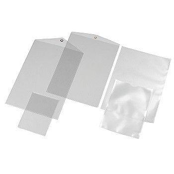 Plasthylse A6 140my, Glassklar (100 stk)
