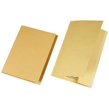 Kartongomslag Folio, Chamois (100stk)