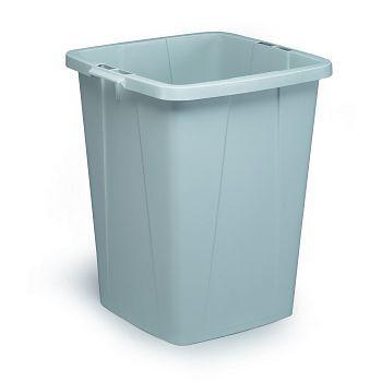 Avfallskurv Durabin 90 Liter, grå