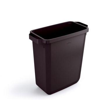 Avfallskurv 60L Plast Sort Durabin