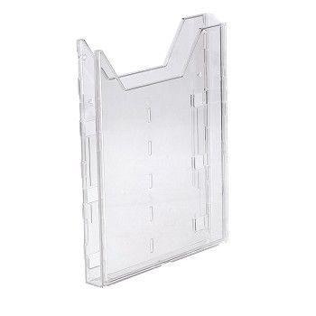 Brosjyrestativ A4 Combiboxx, klar plast