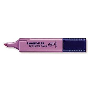 Markeringspenn Lilla, Staedtler Textsurfer Classic, Strekbredde 1-5mm (10 stk)