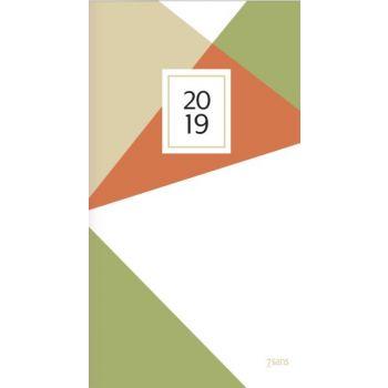 7.sans Datum Design Line - 8,7x15,3cm - innbundet