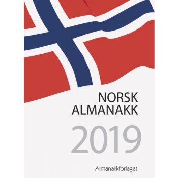 7.sans Norsk Almanakk -  10,5x14,8cm - hvit