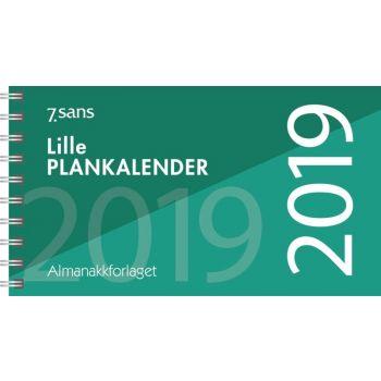 7.sans Lille plankalender - 30x8,4cm
