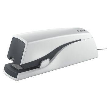 Stiftemaskin elektrisk Leitz 5533, Hvit (inntil 20 ark)
