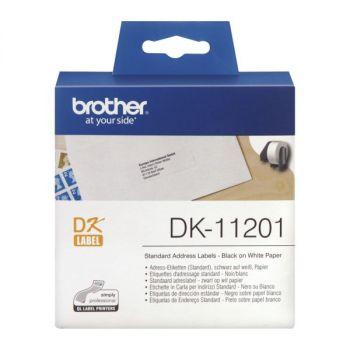 Adresseetikett DK11201 90x29mm Brother