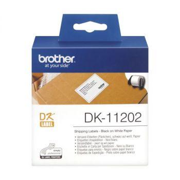 Forsendelsesetikett DK11202 100x62mm Brother
