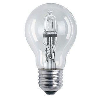 Lyspære Halogen, 42W - 230V, sokkel E27, Aura Light