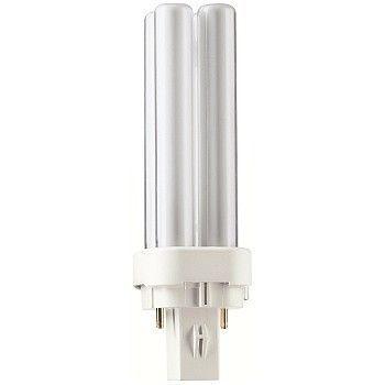 Kompaktlysrør , TCD 13W/830 G24d-1, Aura Light