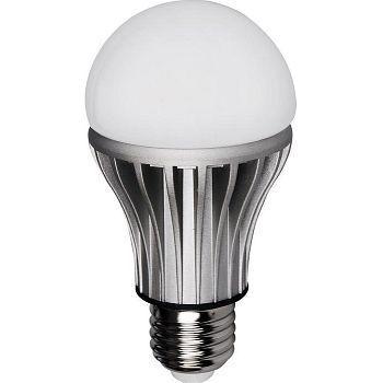 Lyspære LED, Normal 6,6W, 470LM DIM E27, Aura Light