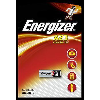 Batteri 12V Energizer A23-E23A. Pakke á 1stk