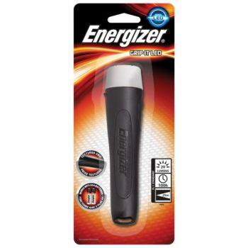 Lommelykt Grip-it for 2 AA batterier Energizer