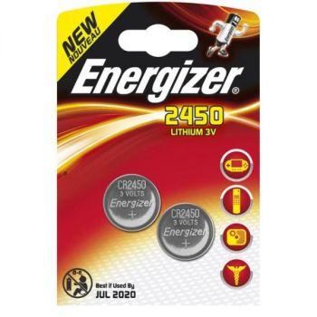 Batteri 3V Energizer Lithium CR2450. (2pk)