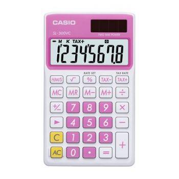Kalkulator Casio SL-300NC-PK-S-EH rosa