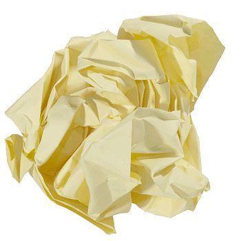 Kopipapir farget A4 (nr 55) 80g, Gul (500 ark)
