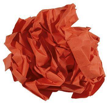 Kopipapir farget A4 (nr 28) 160g, KorallRød (250 ark)
