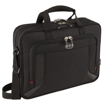PC veske Wenger Prospectus For 16'' Sort Laptop Briefcase