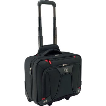 PC koffert Wenger Transfer For 16'' Sort Utvidbar Wheeled Laptop Case