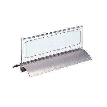 Bordskilt i aluminium og plast 210x61mm (2 stk)