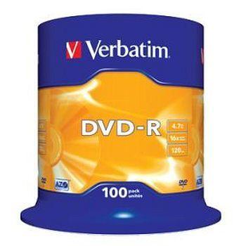 DVD-R Verbatim 4,7GB Matt Silver overflate